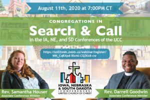 Congregations in Search and Call @ Zoom