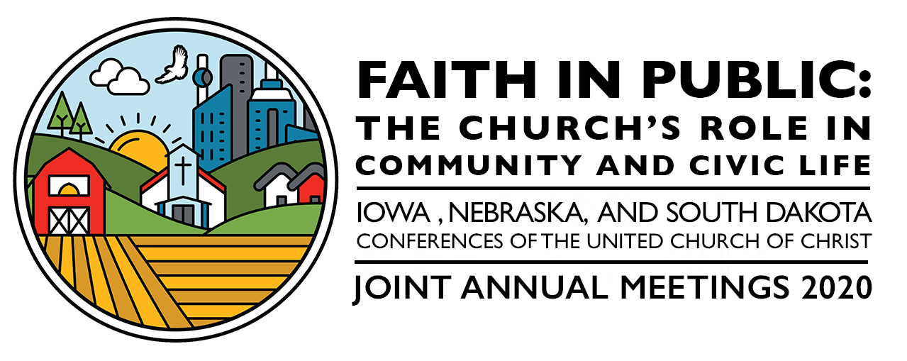 "This year's theme is ""Faith in Public: The Church's Role in Community and Civic Life"""